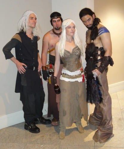 Daenerys Targaryen haloween costumes