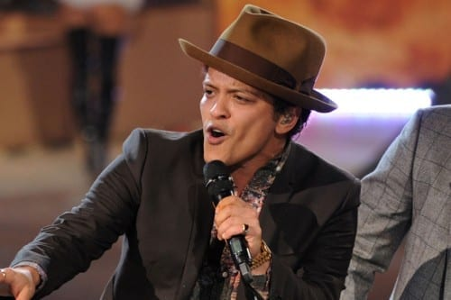 Bruno-Mars- world's most popular singer 2013