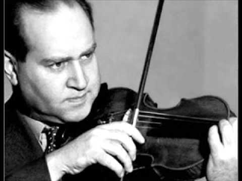 David Fyodorovich Oistrakh, great violinist