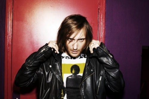 David Guetta 9th most popular male singer