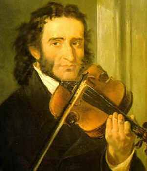 Niccolo Paganini, Italy world's greatest violinist