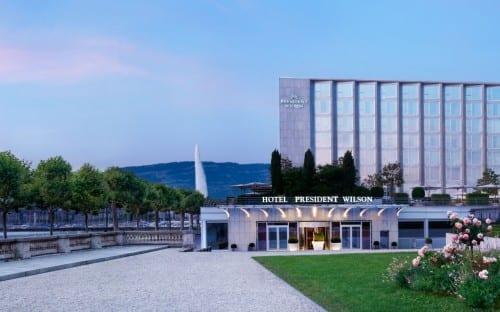 President Wilson Hotel, Geneva, Switzerland