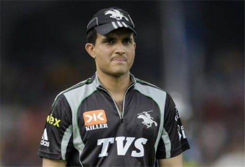 Sourav Ganguly - 6th richest cricketer