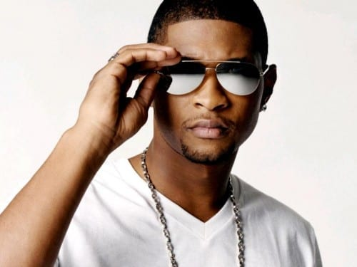 Usher world's 2nd most popular singer 2013