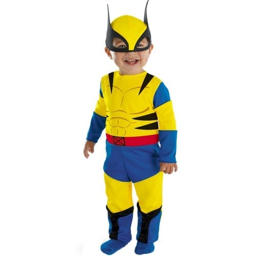Top 10 Best Halloween Costume Ideas for kids 2019, Wolverine Bodysuit Halloween Coustume For kid