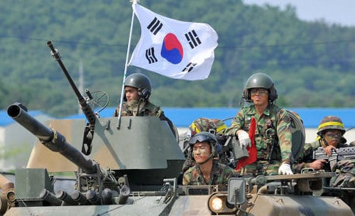 top 10 strongest armies in 2013, South Korea