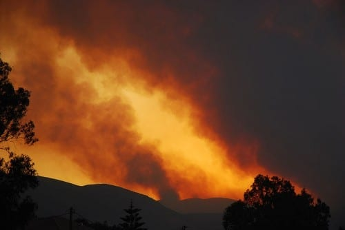2010 Bolivia Forest Fire
