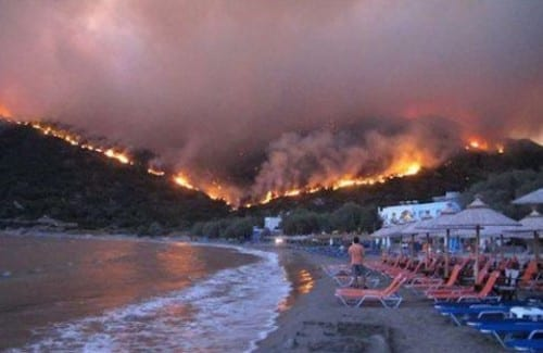 2012 Chios Forest Fire