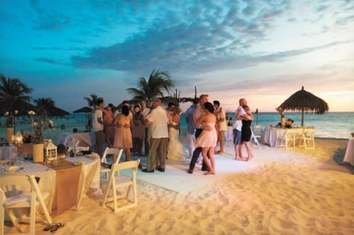 Aruba most beautiful wedding place