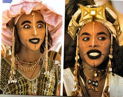 Cross-dressing Wodaabe Men of Niger