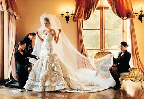 Melania Knauss Wedding Dress
