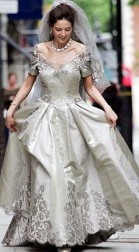 Platinum Wedding Dress