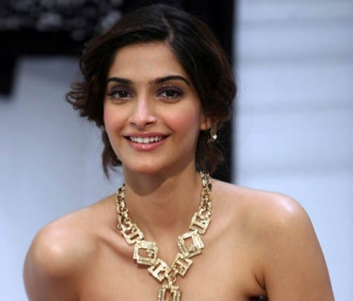 Sonam Kapoor , Top 10 Most Beautiful Bollywood Actresses 2013