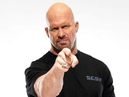 Steve Austin , world's 2nd most richest wresteler