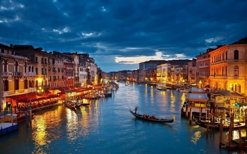 Venice (Italy) , world's most beautiful city