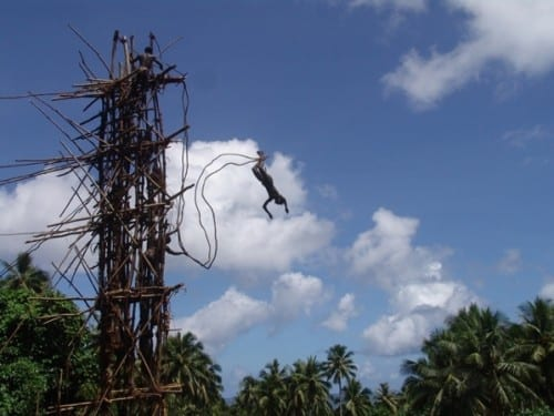 Vine jumping, Pacific Archipelago