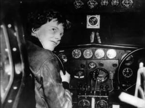 Amelia Earhart, unsolved mystery of the world
