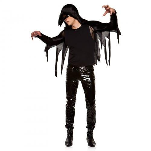 Creepy Winged Raven Halloween costume 2020