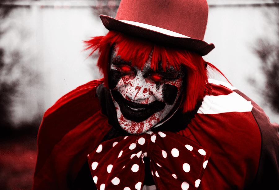 Фото страшных клоунов на аву