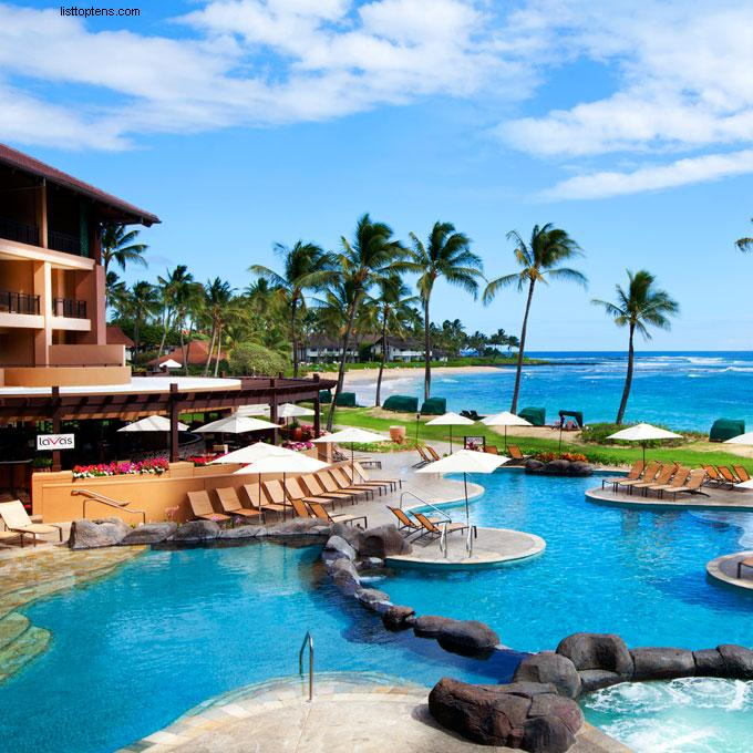 Koloa Kauai Sheraton In Hawaii: Top 10 Most Beautiful Honeymoon Destinations