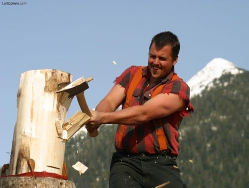 Lumber jack one of the worst jobs in 2019