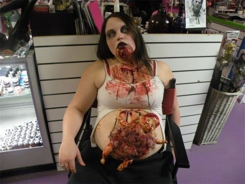 Best Halloween Costume Ideas 2013, Pregnant Zombie