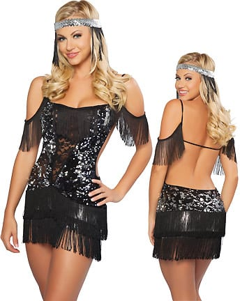 Sexy Flapper Costume