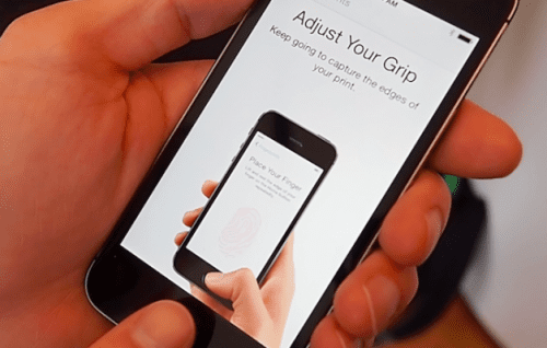 Touch ID Finger Print Scanner