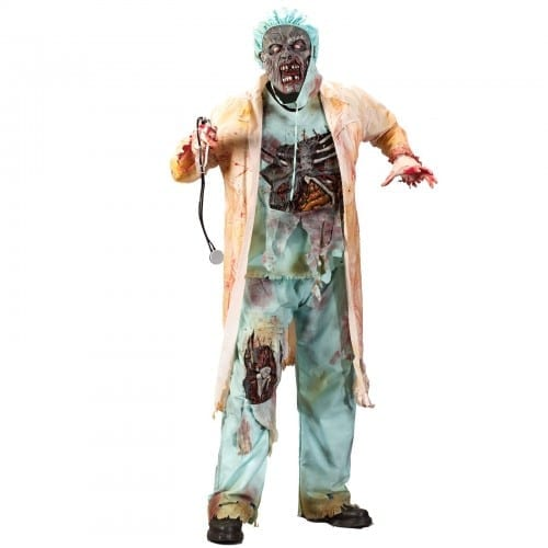 Zombie Soul Eater Doctor costume