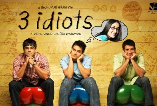 Top 10 Highest Grossing Bollywood Movies , 3 Idiots