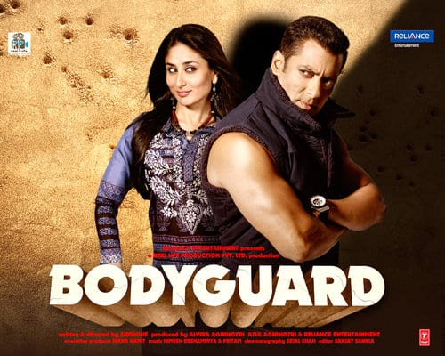Top 10 Highest Grossing Bollywood Movies , 7th is Bodyguard