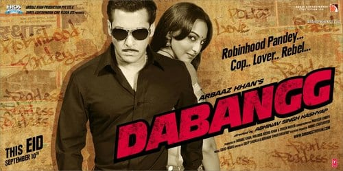 Top 10 Highest Grossing Bollywood Movies , 8th is Dabangg