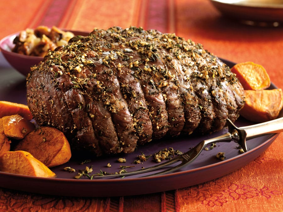 how to cook a small roast beef in oven