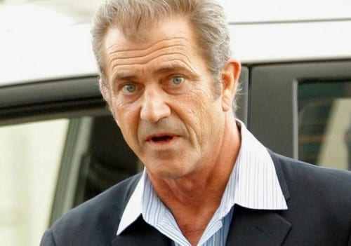 Mel Gibson - 3rd most charitable celebrity