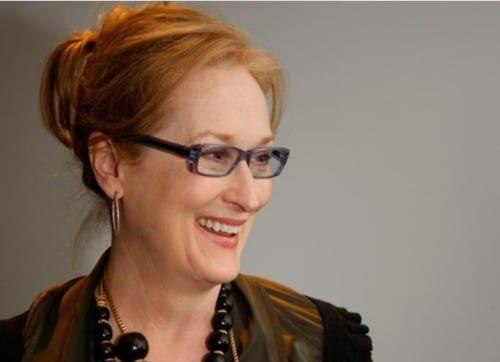 Meryl Streep - most charitable celebrities