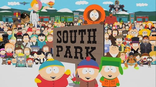 Top 10 Most Popular Best Cartoons 2018-2014, South Park