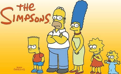The Simpsons the most popular and best cartoon show in 2013