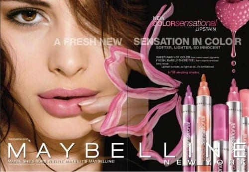 Best And Most Popular Cosmetic Brands - Maybelline