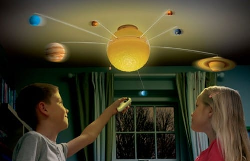 Best Christmas Gifts For Teens - Remote Control Illuminated Solar System