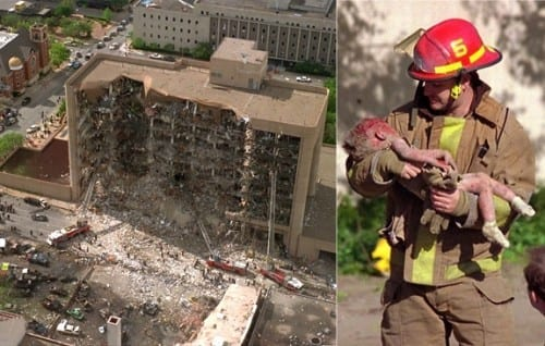 Top 10 Worst Terrorist Attacks - Bombing Of Oklahoma City