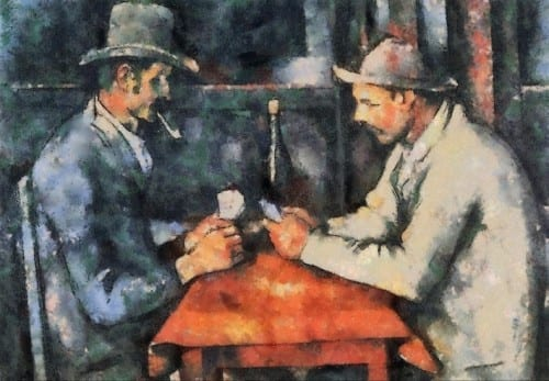 World's most expensive painting - The Card Players - $259 million