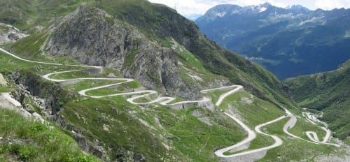 10 Most Beautiful Highways - San Bernardino Pass, Switzerland