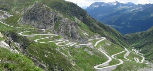 10 Most Beautiful Highways - San Bernardino Pass, Switzerland