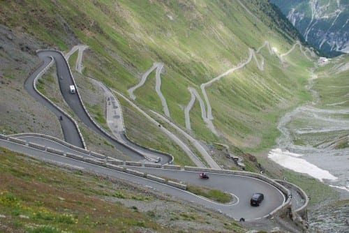 10 Most Beautiful Highways - Stelvio Pass, Italy