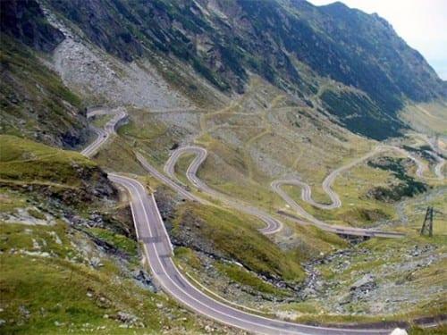 10 Most Beautiful Highways - Transfagarasan, Romania