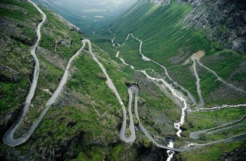 10 Most Beautiful Highways - Trollstigen, Norway