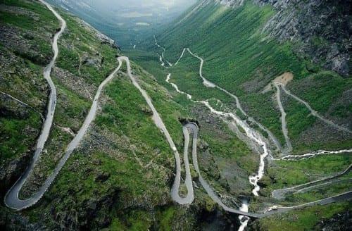 10 Most Beautiful Highways - Trollstigen, Norway