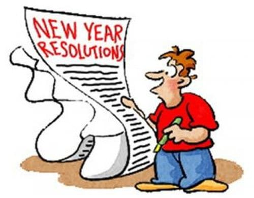 Be Smart, Stick With Your New Year Resolutions