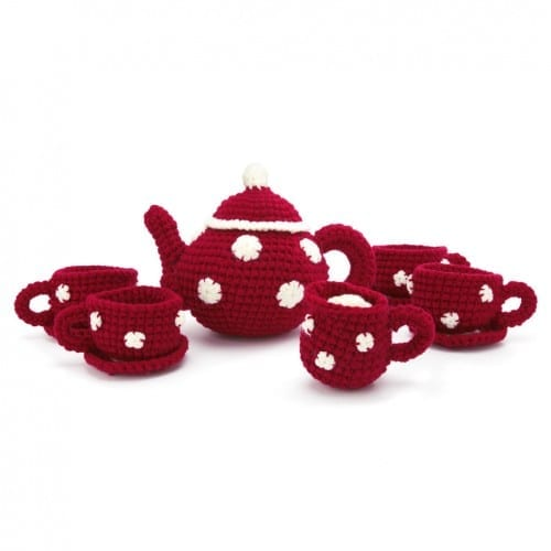 Best Christmas Gifts Under $30 - Knitted Tea Set