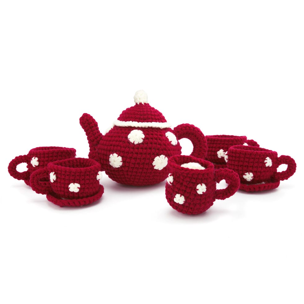 best christmas gifts under 30 knitted tea set
